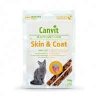 Canvit Health Care Snack Skin and Coat Cat 100g
