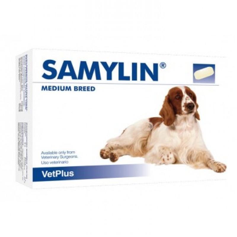 SAMYLIN talie medie pentru caini de talie medie x 30 tablete