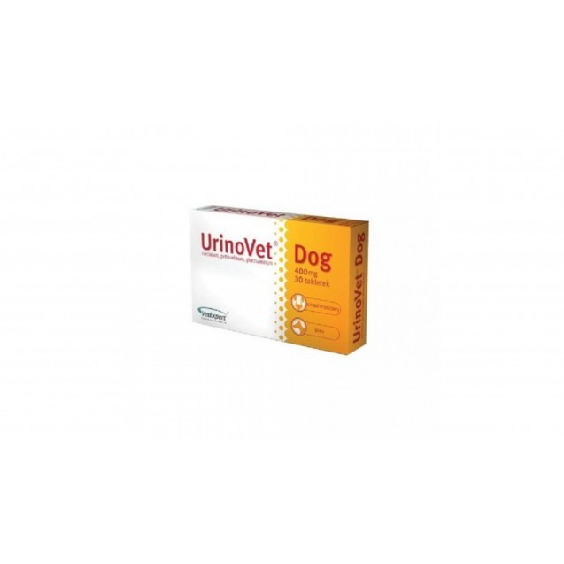 Supliment nutritiv pentru caini, UrinoVet Dog - 30 Tablete
