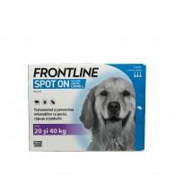 Frontline Spot-On pentru caini de talie mare 20-40kg, 1 pipeta